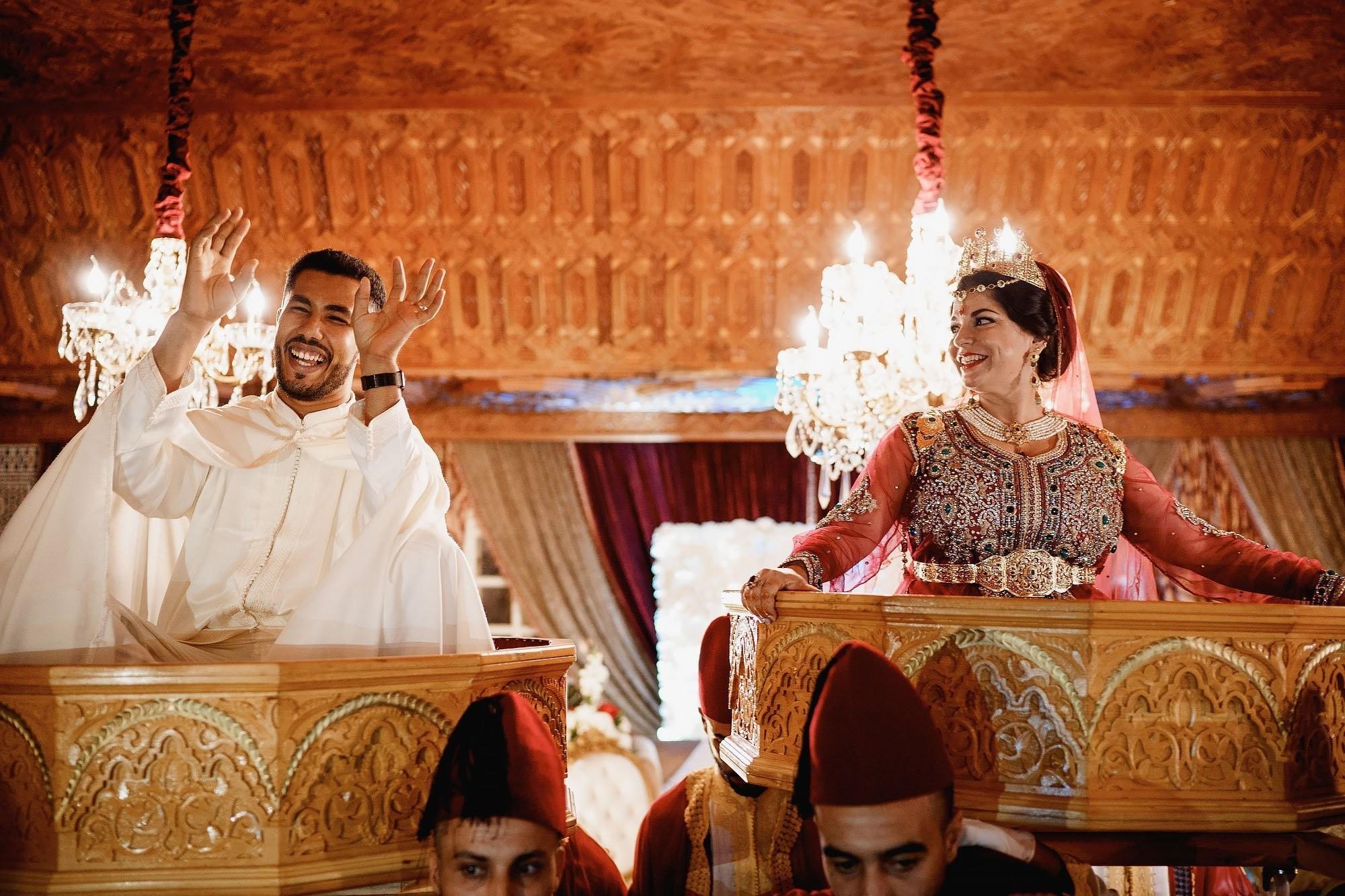 Wat maakt een Marokkaans trouwfeest zo bijzonder?